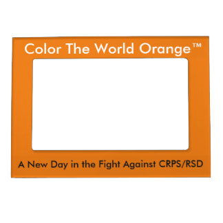 Color The World Orange™ Magnetic Frame