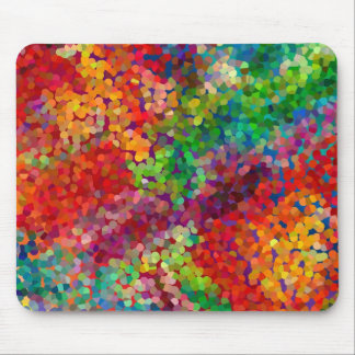 Color Theory Clash Mouse Mat