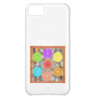 Color Therapy Graphics Healing Energy Chakra iPhone 5C Cases