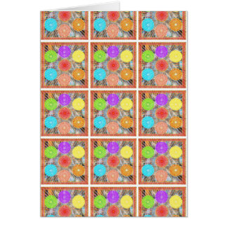 Color Therapy Graphics : Healing Energy Chakra Greeting Card