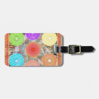 Color Therapy Graphics : Healing Energy Chakra Luggage Tag
