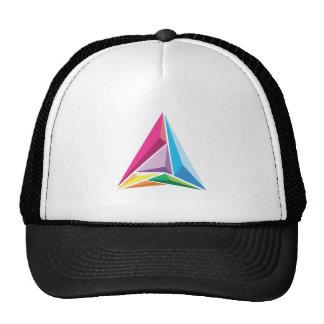 Color Triangle Cap