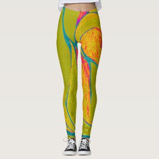 Color Twist (Tropical) Leggings