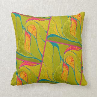 Color Twist (Tropical) Pillow
