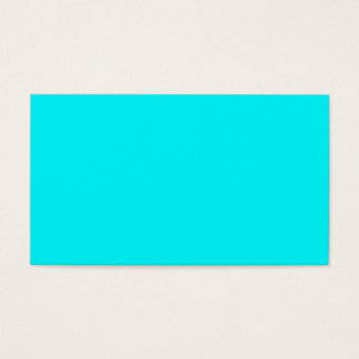 Color Visual Adaptive Living Tools Turquoise Business Card