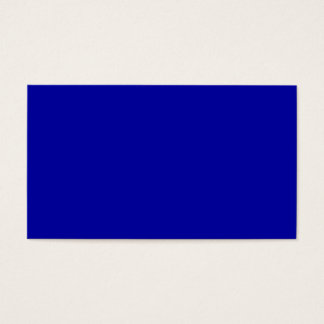 Color Visual Identifiers Adaptive Living Navy Blue Business Card