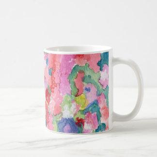 Color Wall Floral Art Mug