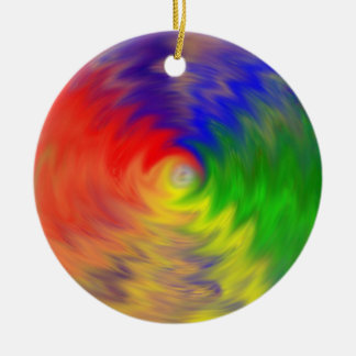 Color warp 9 ornament