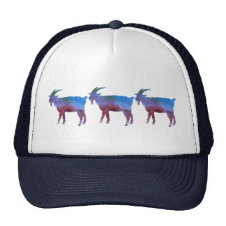 Color Washed Goats Cap
