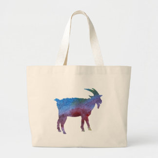 Color Washed Goats Large Tote Bag