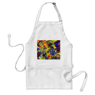 Color waves, attractive design standard apron
