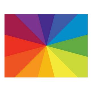 Color Wheel 2 Postcard