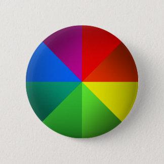Color Wheel 6 Cm Round Badge