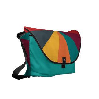 Color Wheel Creative Fun messenger bag