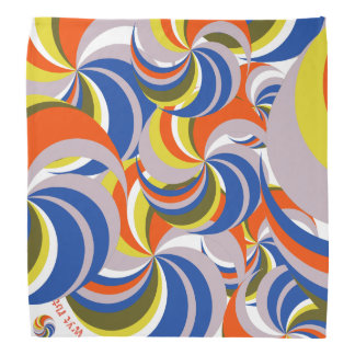 Color wheel Du Rag Kerchief