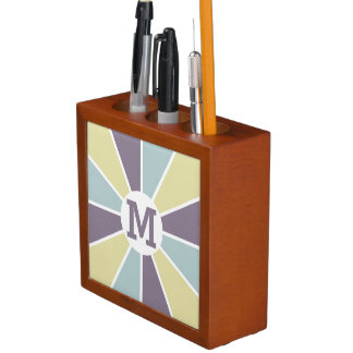 Color Wheel / Rays custom monogram organizer