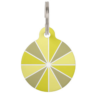 Color Wheel / Rays custom pet tags