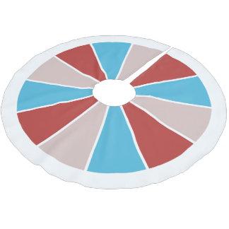 Color Wheel / Rays tree skirt