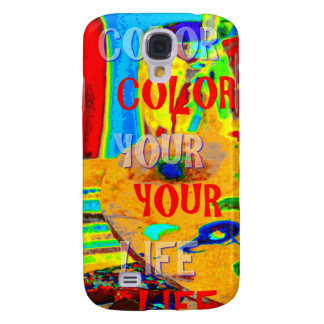 color your life galaxy s4 case