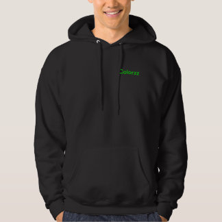 Color your life! hooded sweatshirts