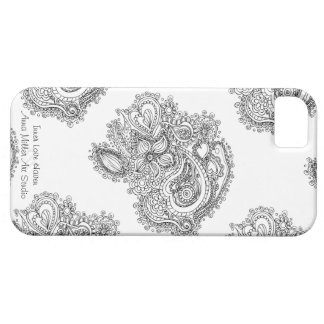 Color Your Own Art: Fabulous Inner Love Phone Case iPhone 5 Case