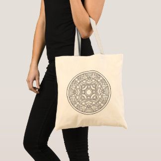 Color Your Own Coloring Book Design Abstract Tote Bag