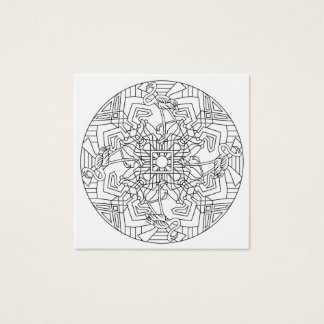 Color Your Own Coloring Book Design Animals Animal Square Business Card
