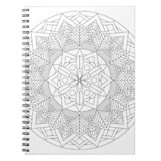 Color-Your-Own Mandala  060517_3 Notebook
