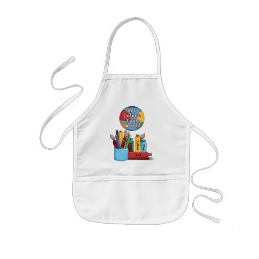 Color Your World Aprons
