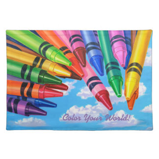 Color Your World! Placemat