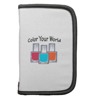 COLOR YOUR WORLD ORGANIZER