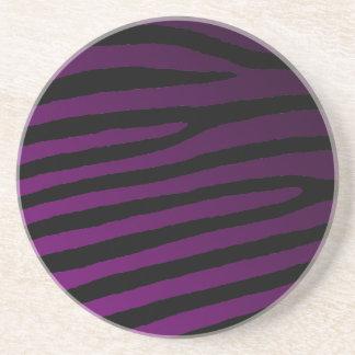 Color Zebra Striped Coaster
