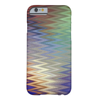 Color Zigzag iPhone 6/6S Barely There Case