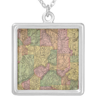 Colorado 10 silver plated necklace