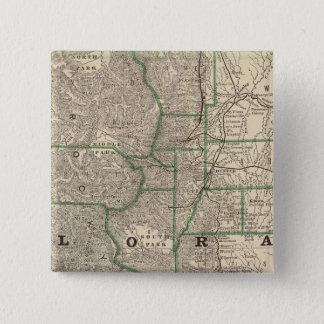 Colorado 12 15 cm square badge