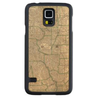 Colorado 12 carved maple galaxy s5 case