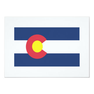 Colorado 13 Cm X 18 Cm Invitation Card