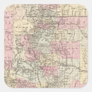 Colorado 14 square sticker