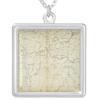 Colorado 2 silver plated necklace