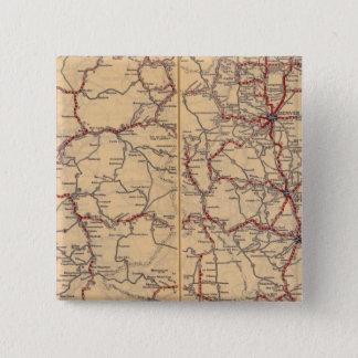Colorado 3 15 cm square badge