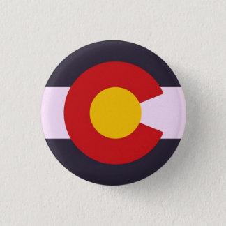 Colorado 3 Cm Round Badge