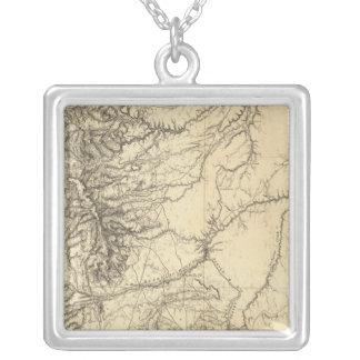 Colorado 4 silver plated necklace