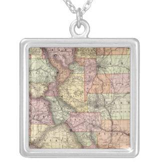 Colorado 5 silver plated necklace