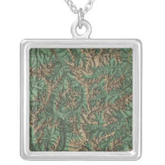 Colorado 5 silver plated necklace
