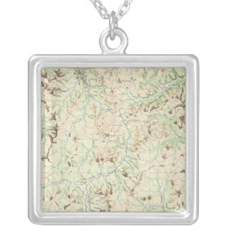 Colorado 6 silver plated necklace