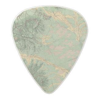 Colorado 7 acetal guitar pick