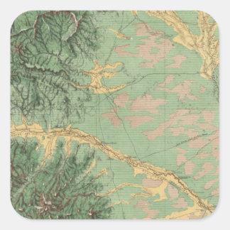 Colorado 7 square sticker