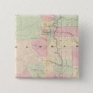 Colorado 9 15 cm square badge
