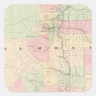 Colorado 9 square sticker