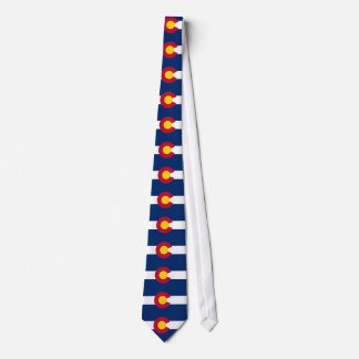 Colorado, American state flag Tie